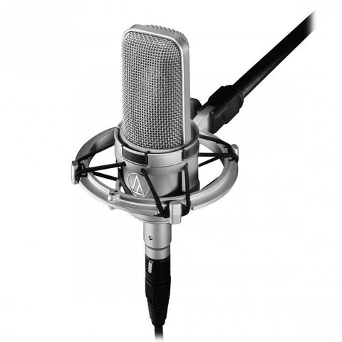 Audio Technica AT4047SVSM Cardioid condenser large diaphragm microphone with AT8449SV shock mount