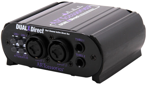 ART DUAL X-DIRECT TWIN CHANNEL ACTIVE DI BOX