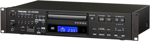 Tascam CD200SB Rackmount CD Player