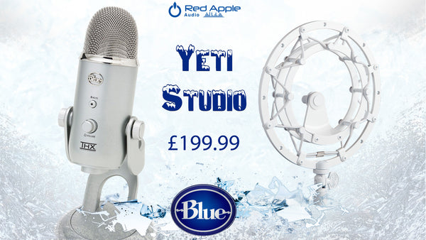 Blue Yeti Microphone & Shock Mount Bundle