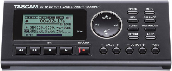 Tascam GB-10 Guitar/Bass Trainer & Recorder