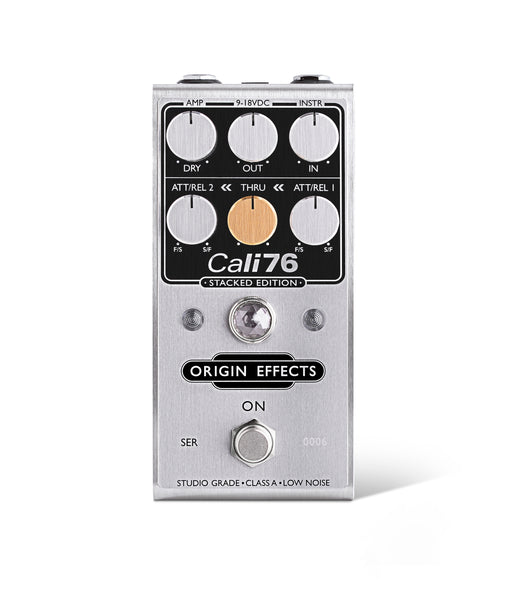 Origin Effects Cali76 Compressor Pedal Stacked Edition