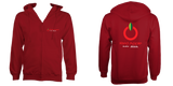Red Apple Audio Zip Hoodie