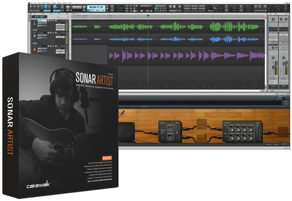 Cakewalk Sonar Artist Music Production Software