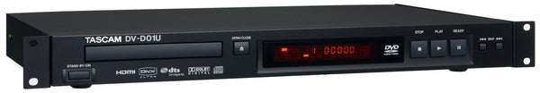 Tascam DV-D01U Rack-Mountable Single Disc DVD Player