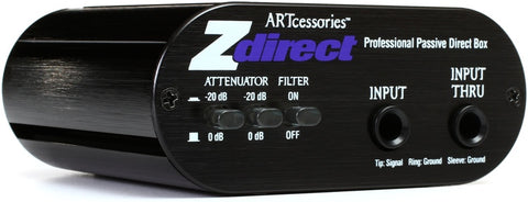 ART Zdirect Passive DI Box