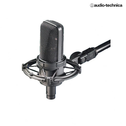 Audio Technica AT4033ASM Cardioid condenser large diaphragm microphone with AT8499 shock mount
