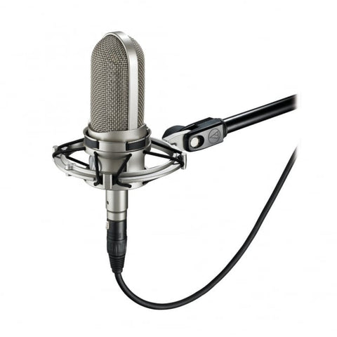 Audio Technica AT4080 Bidirectional active ribbon microphone with AT8449SV shock mount