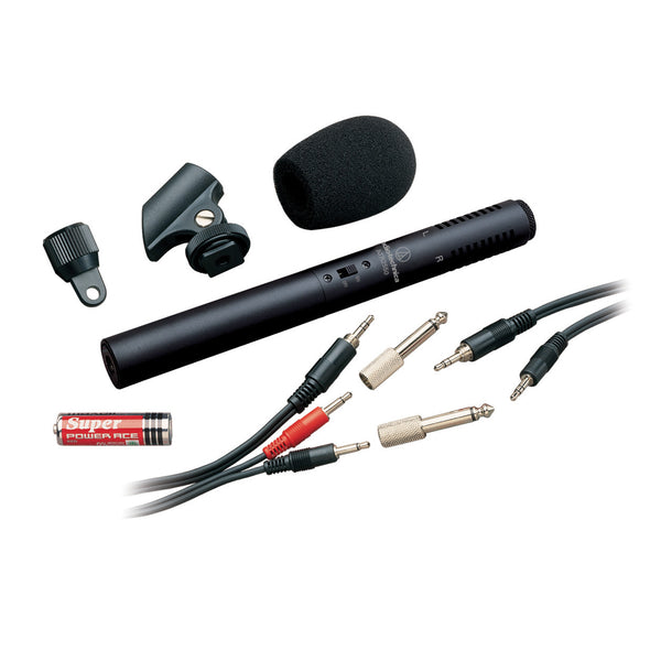 ATR6250 Stereo Condenser Video/Recording Microphone