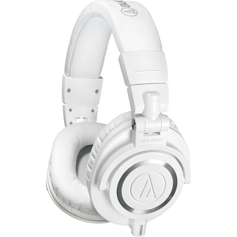 AUDIO TECHNICA M50XWH PRO STUDIO HEADPHONES (White)