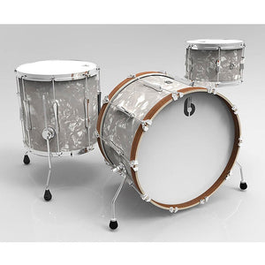 British Drum Co Lounge Series Drum Kits (Wndemere Pearl)