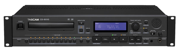 Tascam CD-6010 Broadcast CD Player