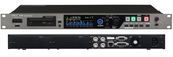 DA-6400dp Compact 64-Channel Digital Multitrack Recorder