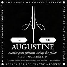Augustine Regals Black Guitar Strings