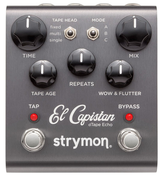 Strymon El Capistan dTape Echo Guitar Effects Pedal