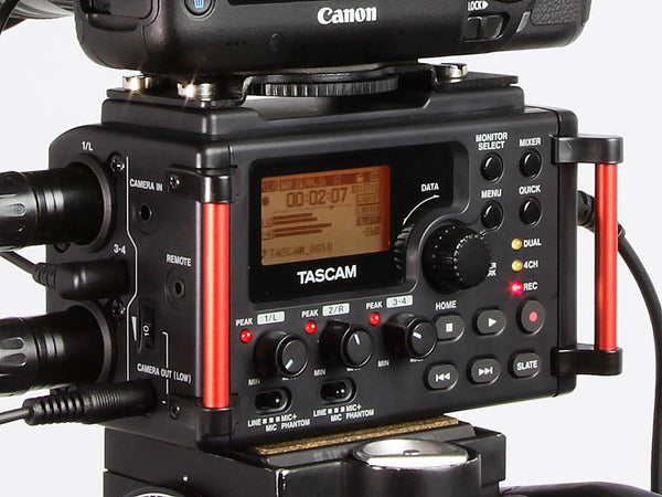 Tascam DR-60D MkII 4-Track Audio Recorder