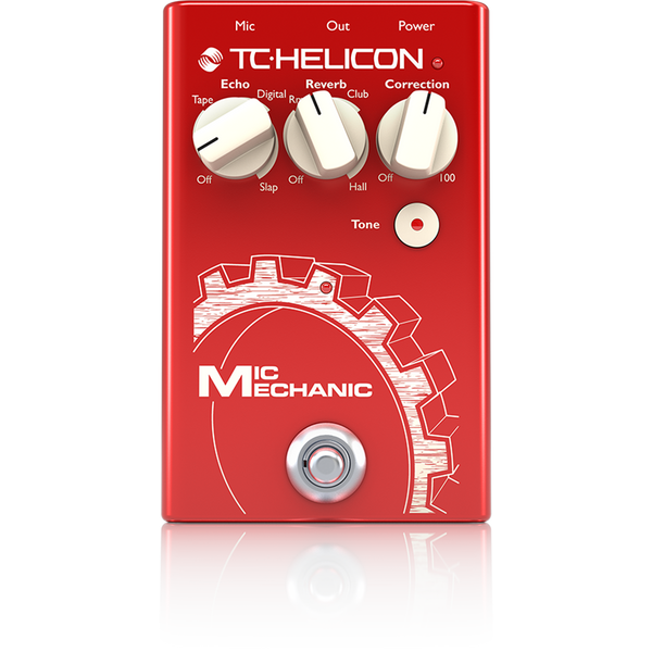 VoiceTone Mic Mechanic 2 Vocal Effects Stompbox