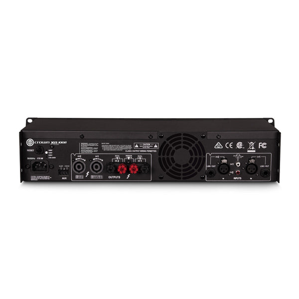 Crown XLS-1002 DriveCore 2 350W Stereo Power Amplifier