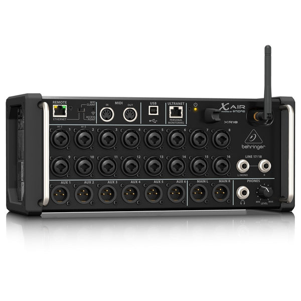 Behringer X-Air XR18 mix rack