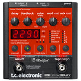 TC Electronic Nova Delay iB Dynamics Guitar Effects Pedal