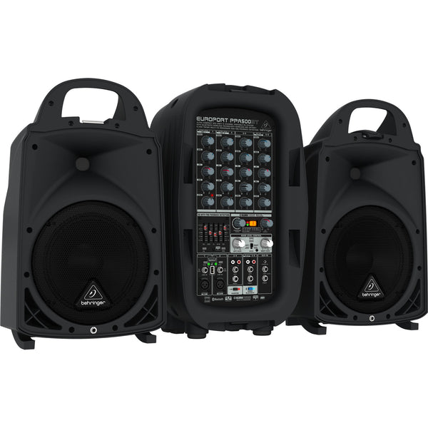 Behringer Europort PPA500BT 6 Channel Portable PA System