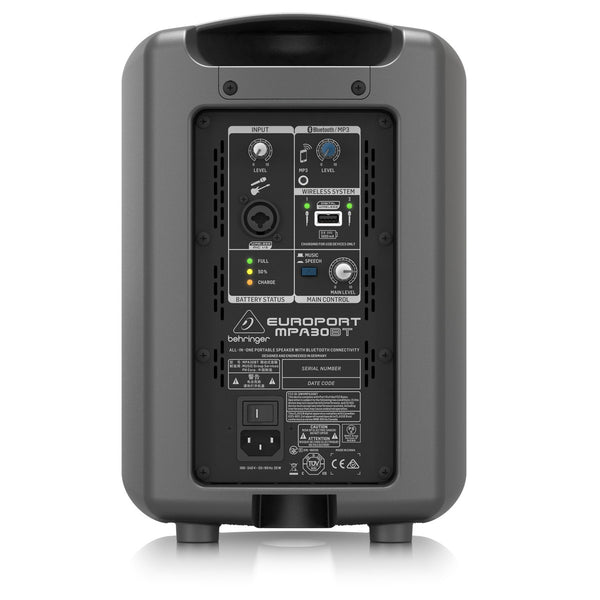 Behringer Europort MPA30BT Portable All-In-One PA