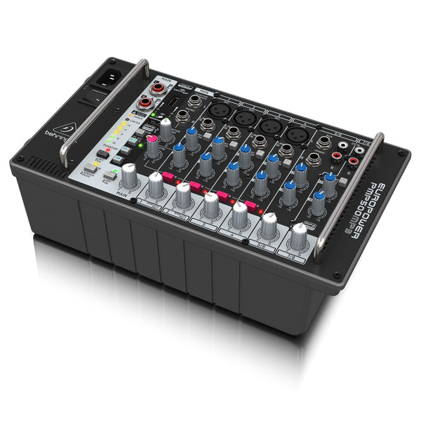Behringer PMP500MP3 500W 8-Channel Powered Mixer