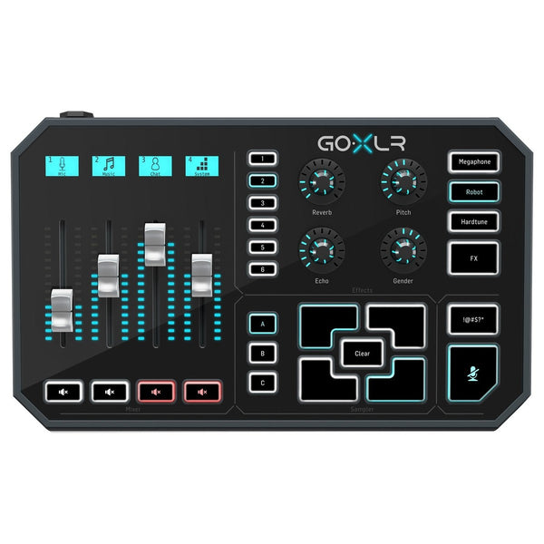 TC Helicon GoXLR Online Broadcaster Platform w/ 4-Channel Mixer