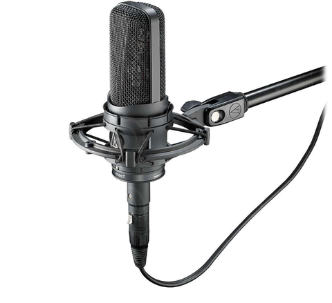 Audio Technica AT4050ST (AT-4050) Stereo Condensor Microphone Stand with AT8449 Shock Mount