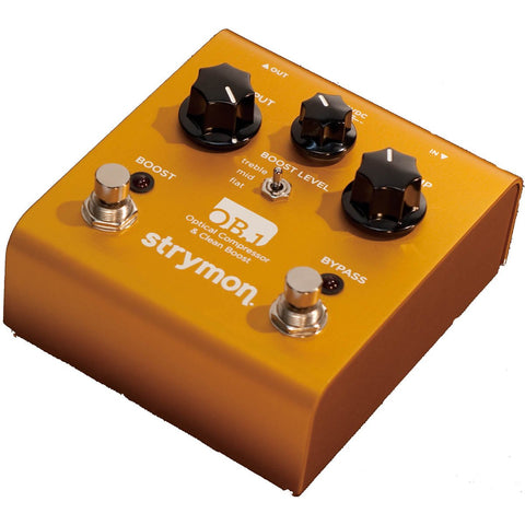 Strymon OB.1 Optical Compressor & Clean Boost Guitar Effects Pedal