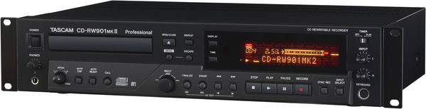 Tascam CD-RW901MkII CD Re-Writer