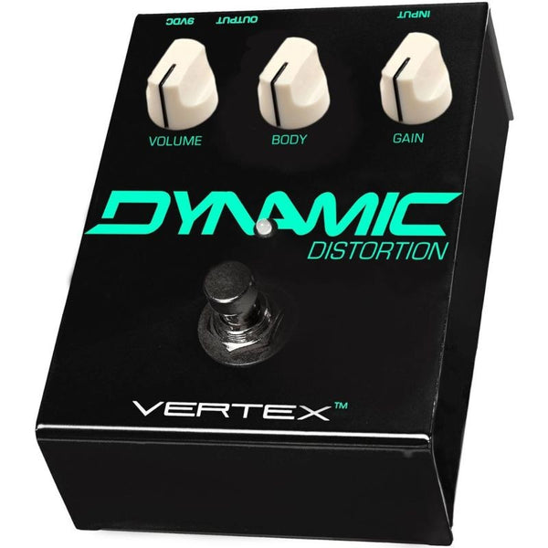 Vertex Dynamic Distortion Effects Pedal