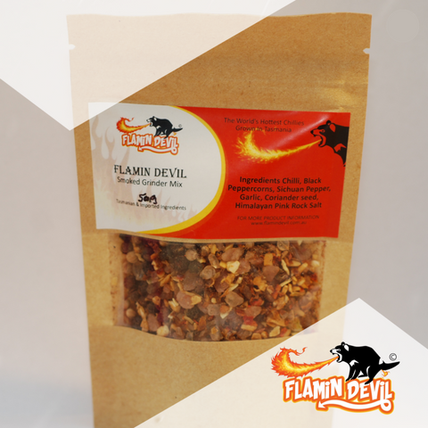 Flamin' Devil- Smoked Grinder Mix