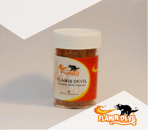 Flamin' Devil- Smoked Chilli Powder