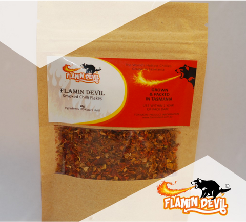 Flamin' Devil- Smoked Chilli Flakes