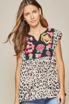Savanna Jane Leopard Top