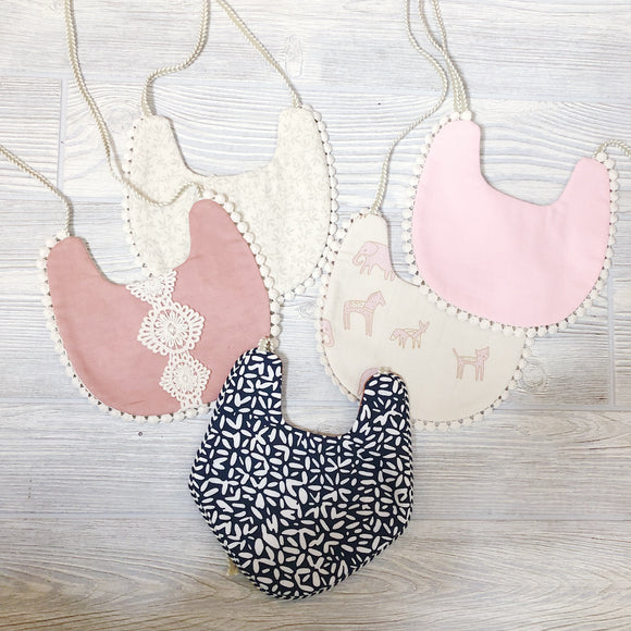 Reversible Cotton Bibs - Shoppe3130