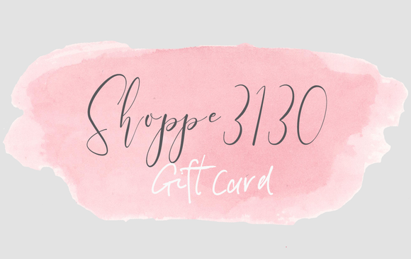 Physical Gift Card - Shoppe3130