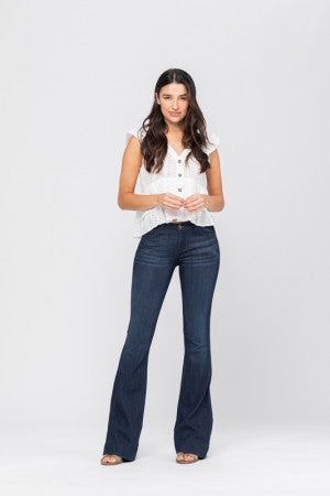 Judy Blue Fitted Trouser Jeans