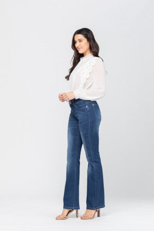 Judy Blue Two Button Slim Bootcut