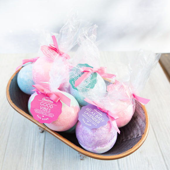 Round Bath Bombs - Feeling Smitten - Shoppe3130
