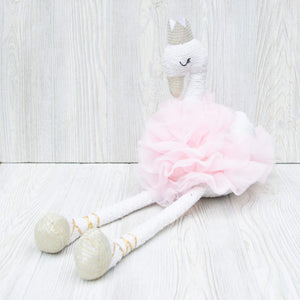 Ballerina Swan Stuffed Toy - Shoppe3130