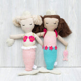 Mudpie Mermaid Stuffed Toy