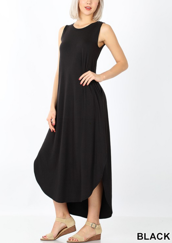 Brushed Tank Maxi Dress - Shoppe3130