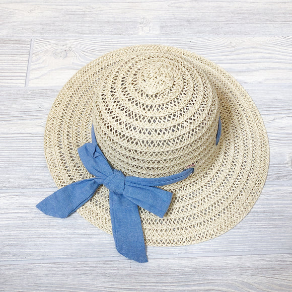 Kids Summer Straw Hat - Shoppe3130