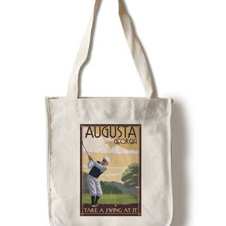 Aug GA Swing Tote Bag - Shoppe3130