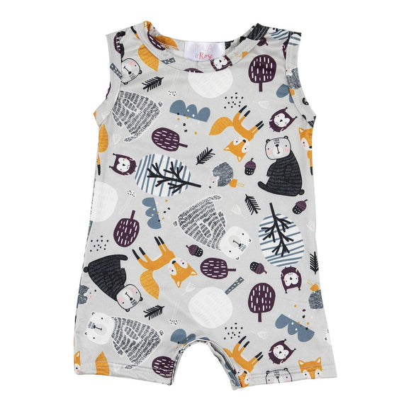 Forrest Friends Shorty One Piece Bodysuit