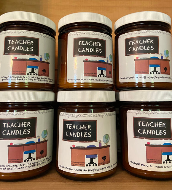 Teacher Candles - Shoppe3130