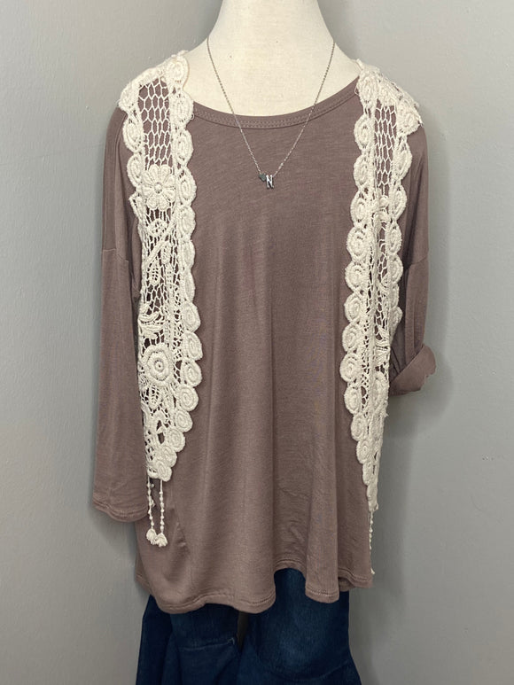 Kids Criss Cross Tunic