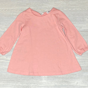 Kids Pink T-shirt Dress - Shoppe3130